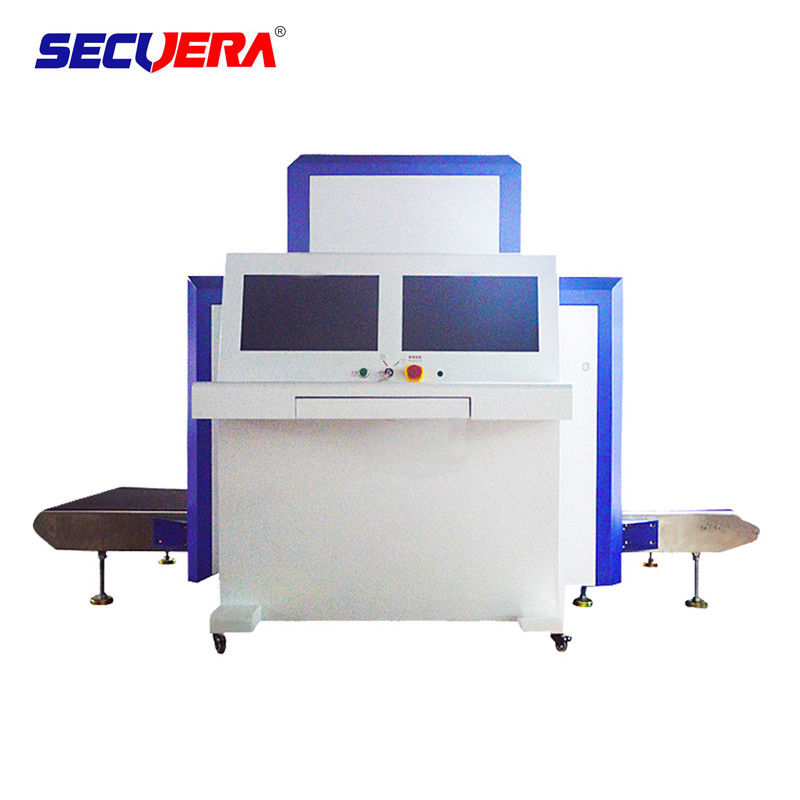 CE Approved Luggage X Ray Machine , X Ray Baggage Inspection System For Bus Stations